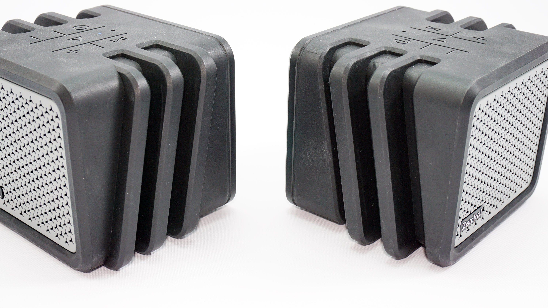Zamkol speaker set separated.