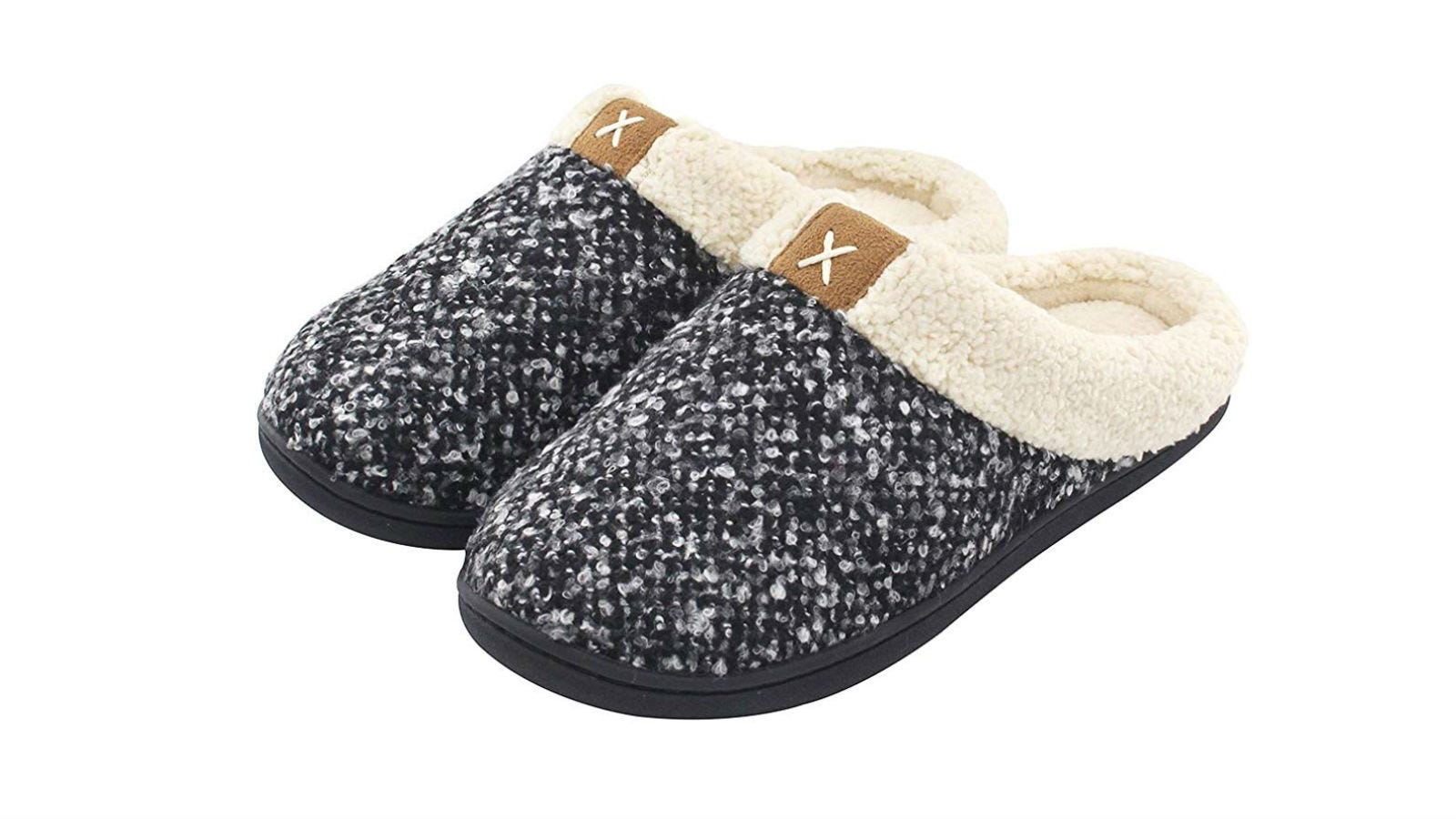 Ultraideas Womens Cozy Memory Foam Slippers