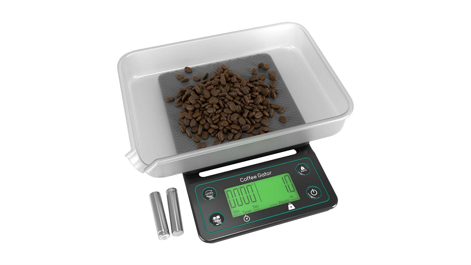 Coffee Gator Coffee Scale with Timer
