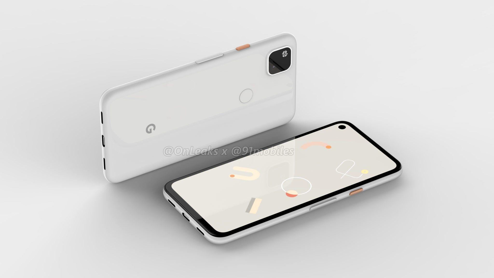 The Google Pixel 4a phone