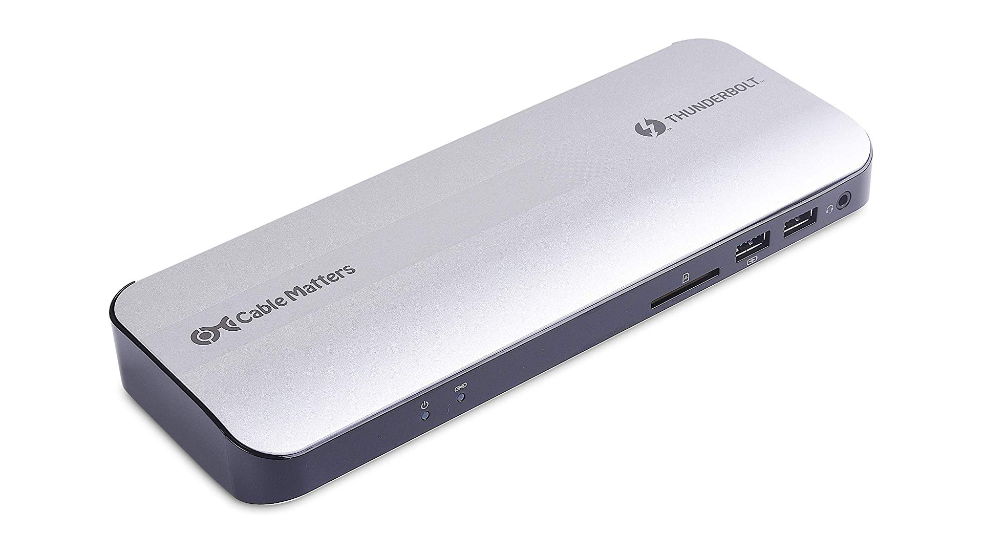 The Cable Matters thunderbolt 3 docking station
