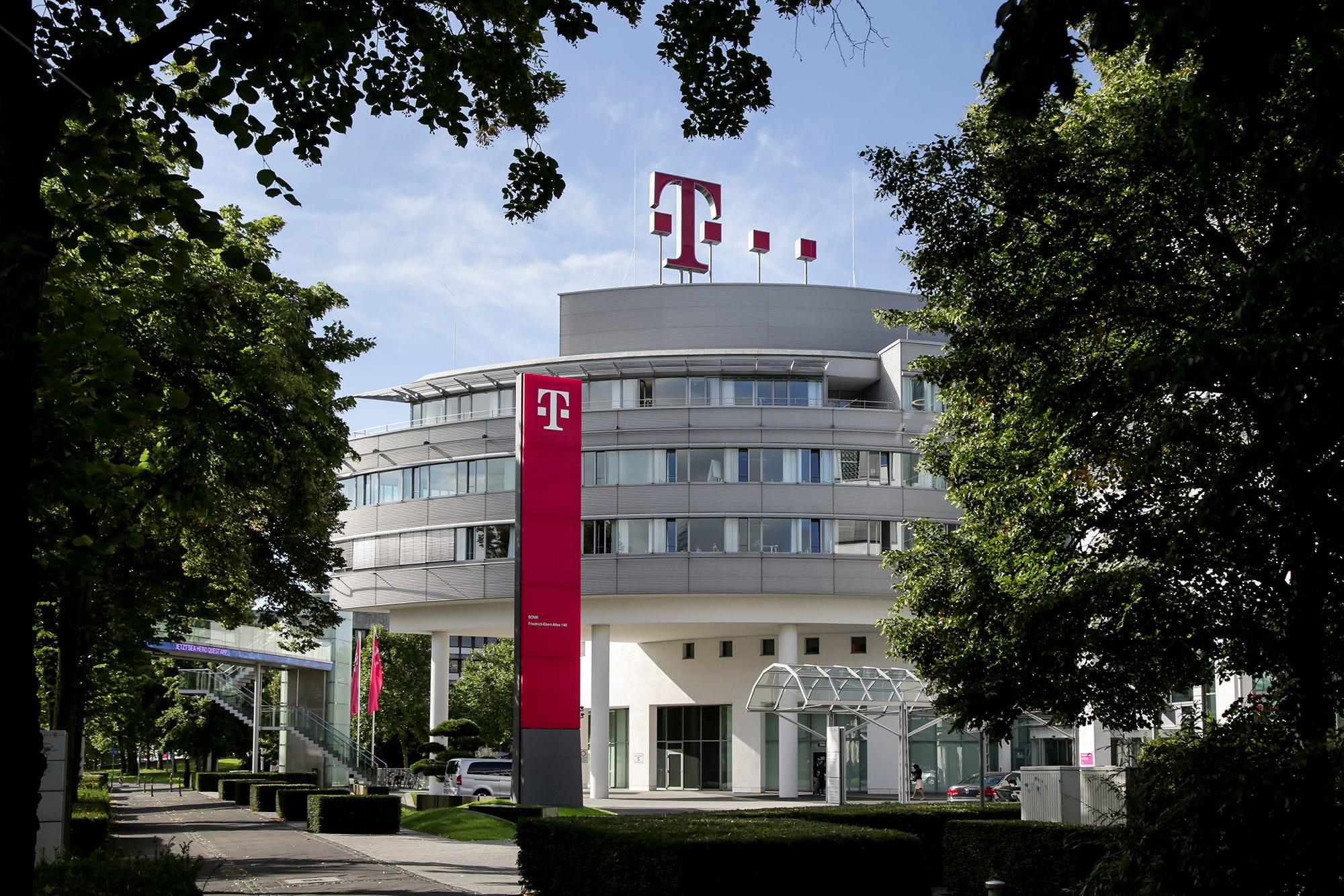 Deutsche Telekom headquarters in Germany.