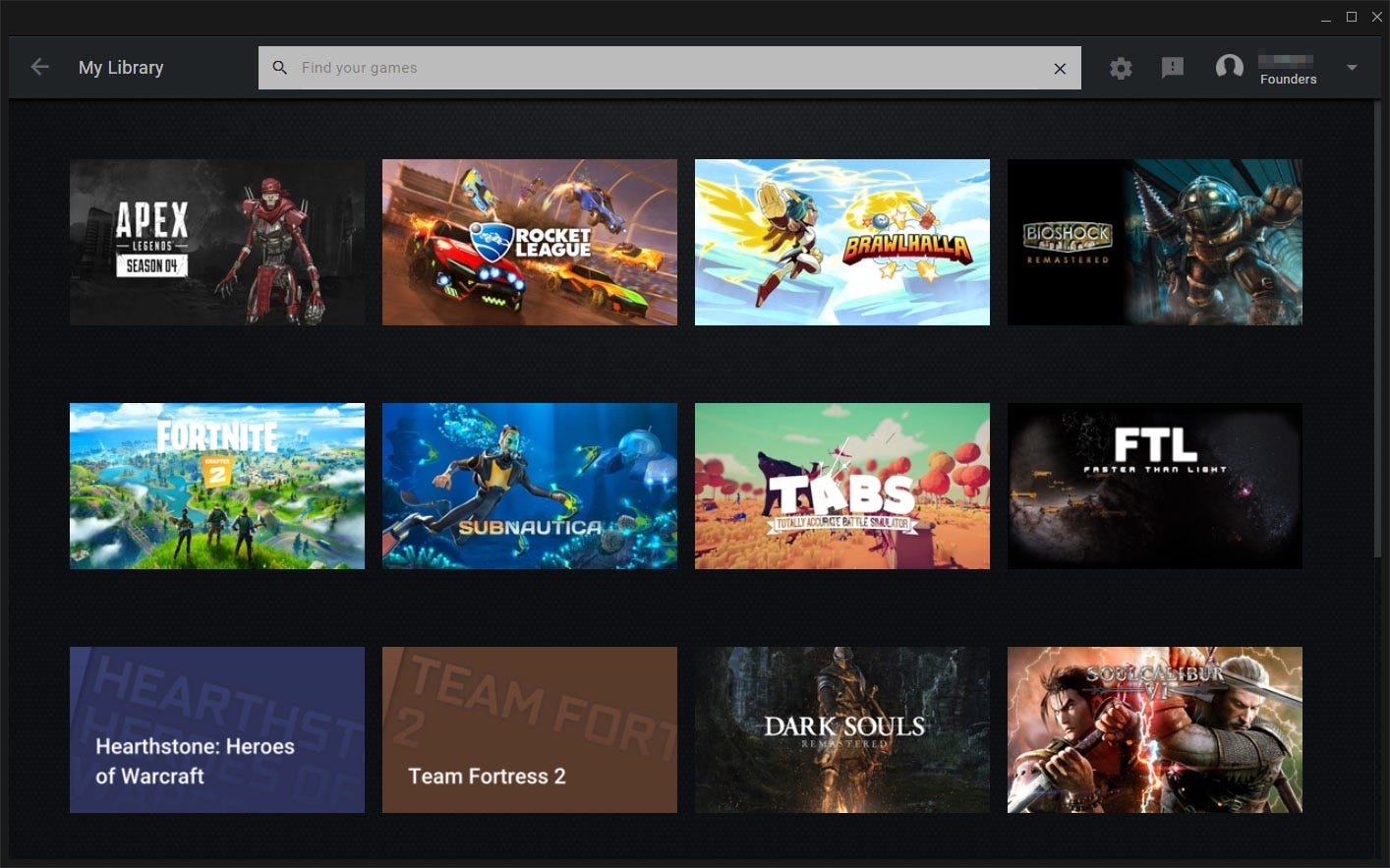 The main GeForce NOW library interface.