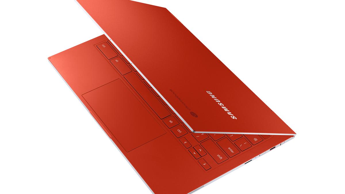 A photo of Samsung's Galaxy Chromebook.