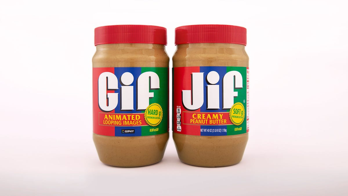 Jif and Gif Special Edition Peanut Butter Bottle
