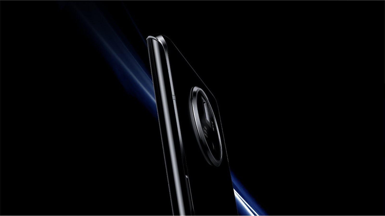 A close-up of the Vivo's 48 megapixel camera.