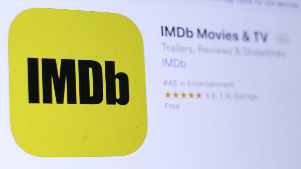 A picture of the IMDb App Store page