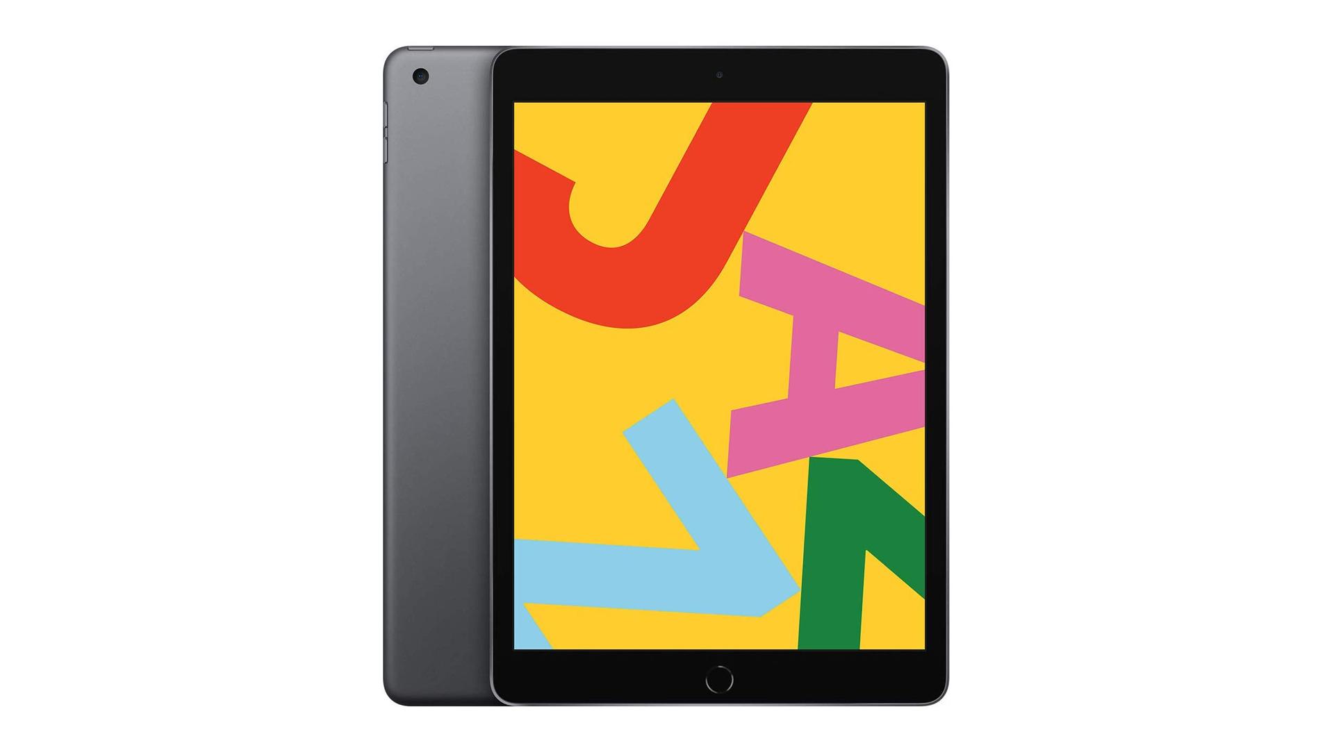 A photo of the iPad.