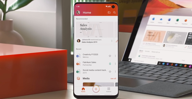 Microsoft's Unified Office App Is out of Beta Mode, at Least for Android Phones