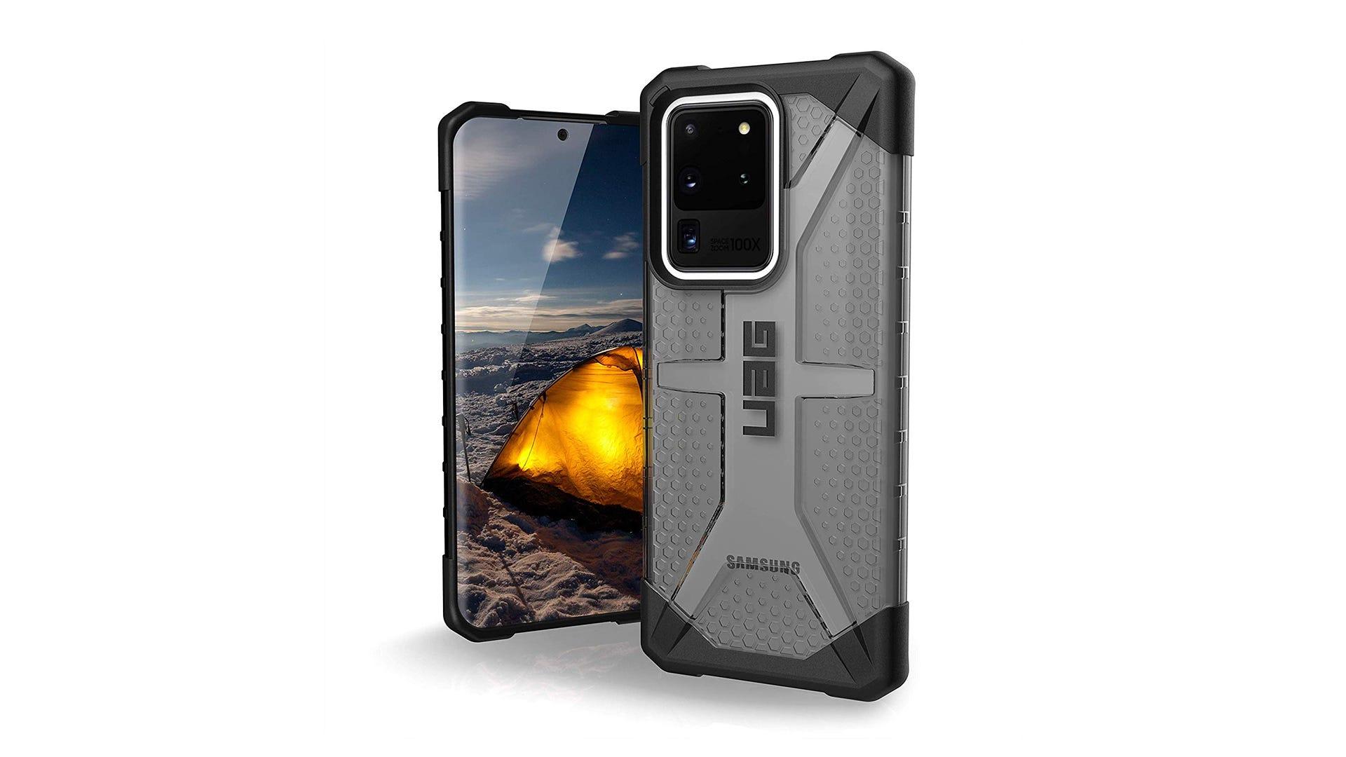 UAG Plasma Case on the Samsung Galaxy S20