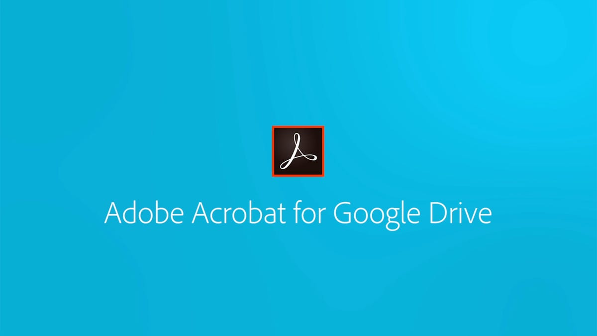 Adobe Acrobat for Google Drive