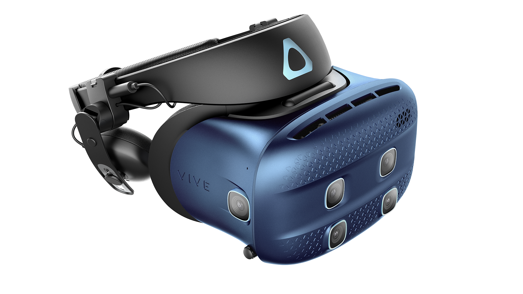 The VIVE Cosmos XR faceplate.