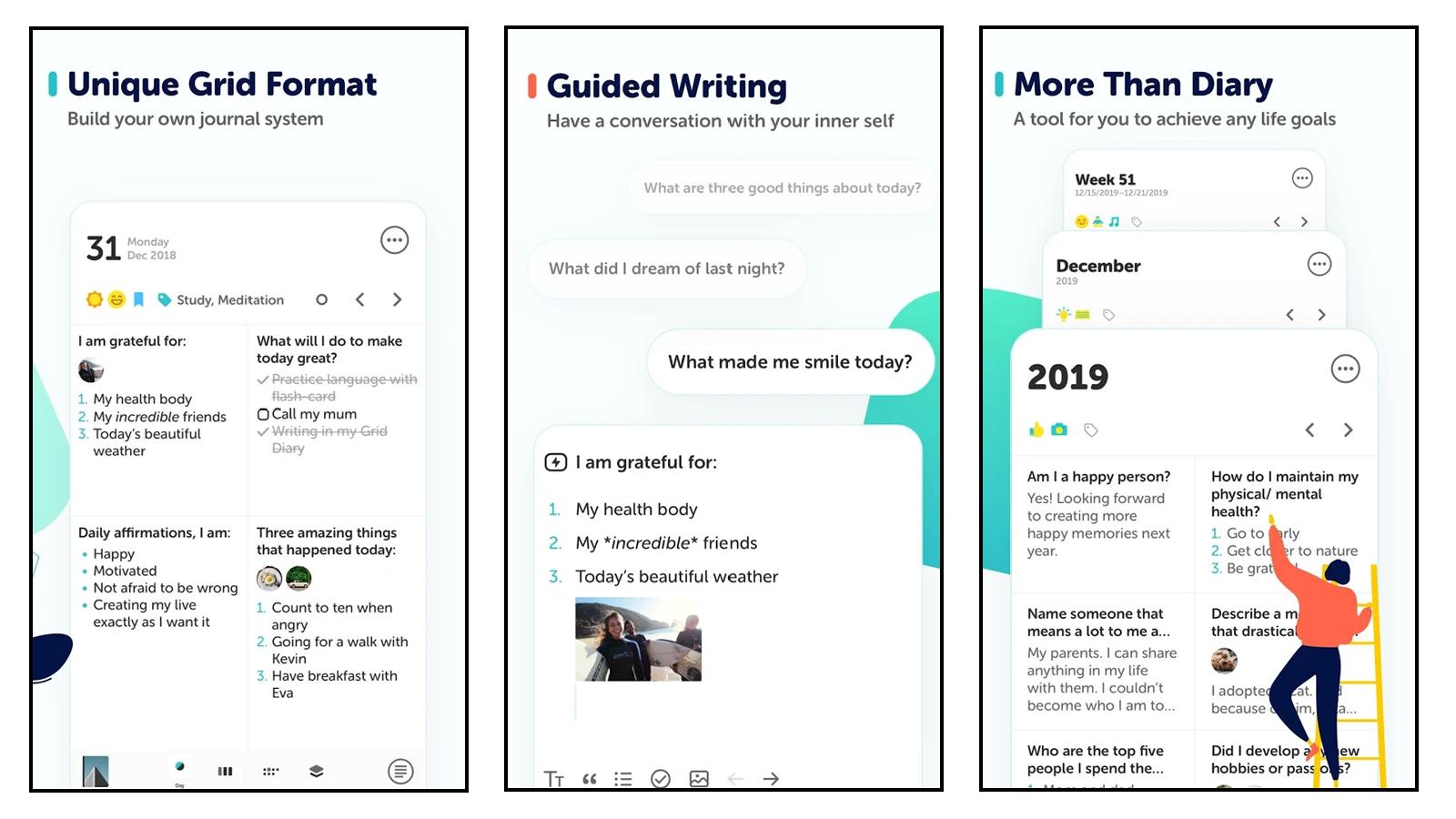 Grid Diary App