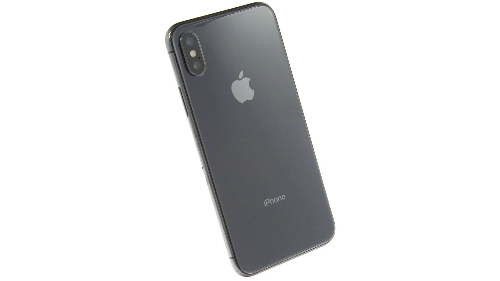 A photo of the iPhone X