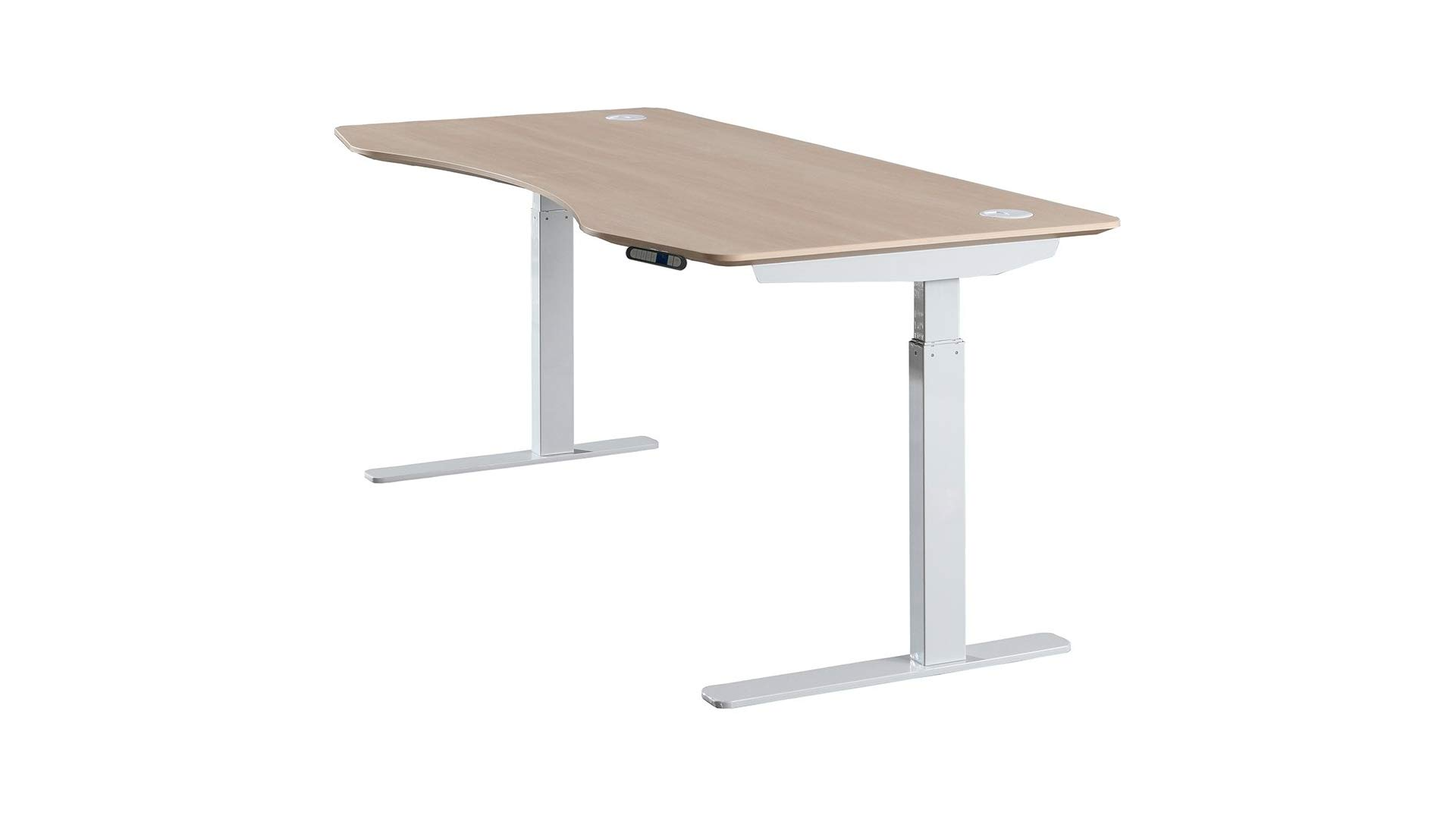 A photo of the Apexdesk adjustable standing desk.
