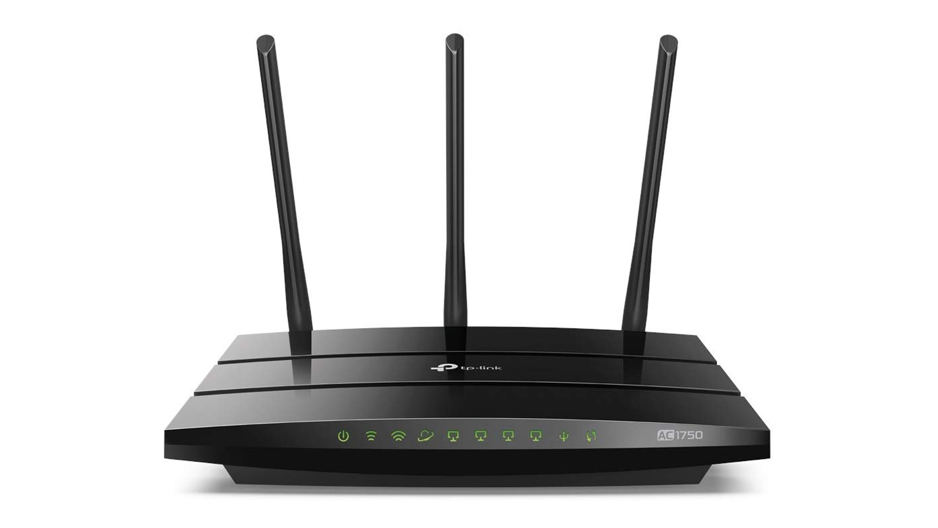 A photo of the TP-Link smart router.