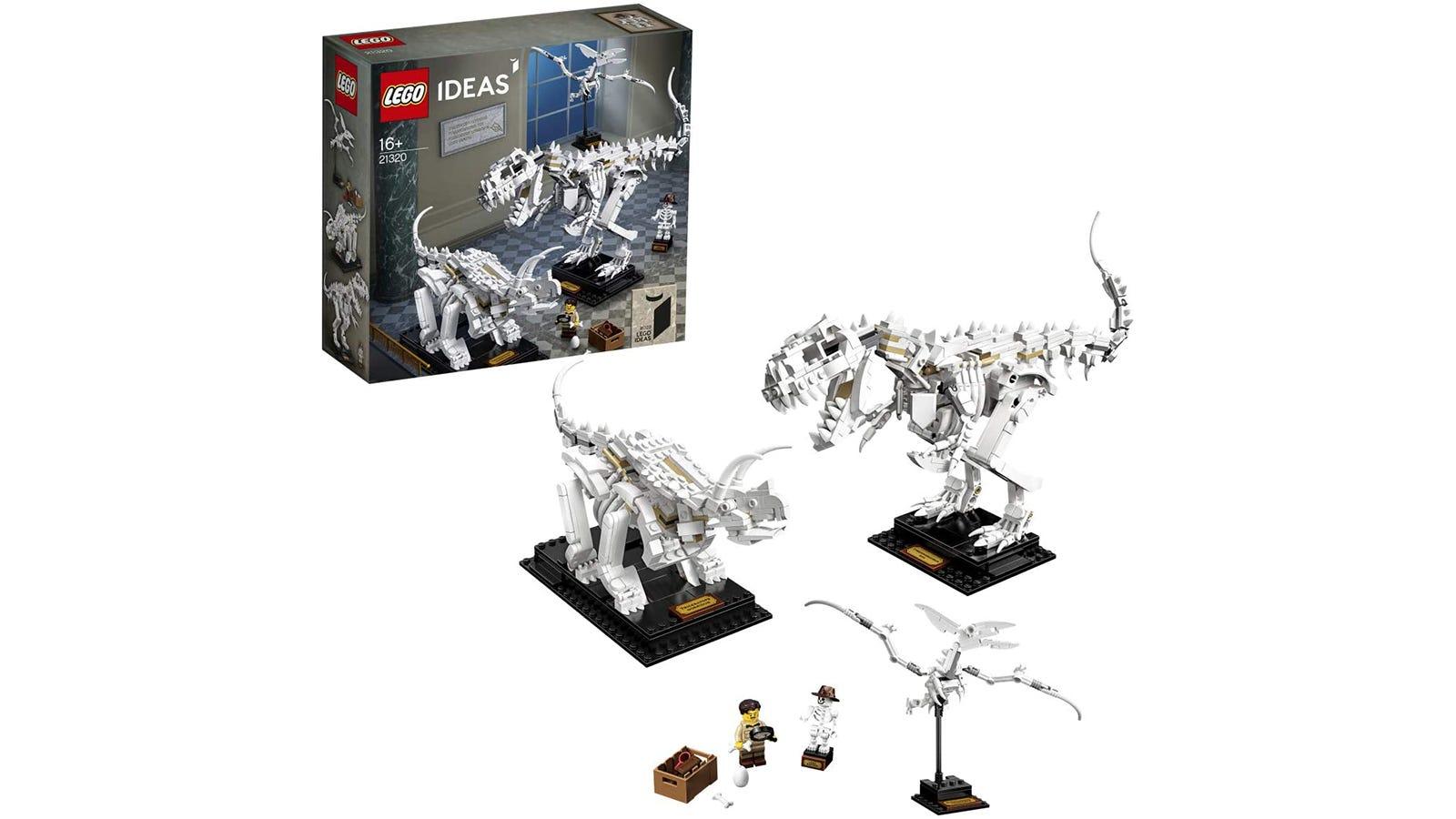 LEGO Ideas Dinosaur Fossils