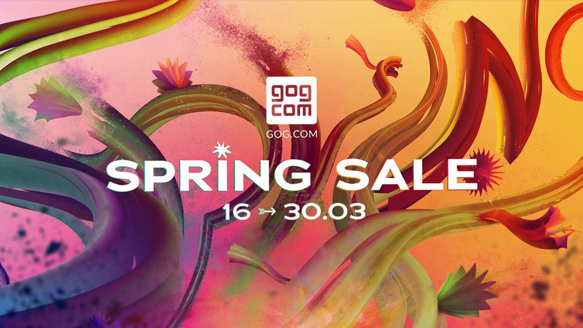 """The words """"Spring Sale"""" over a flowery backdrop."""