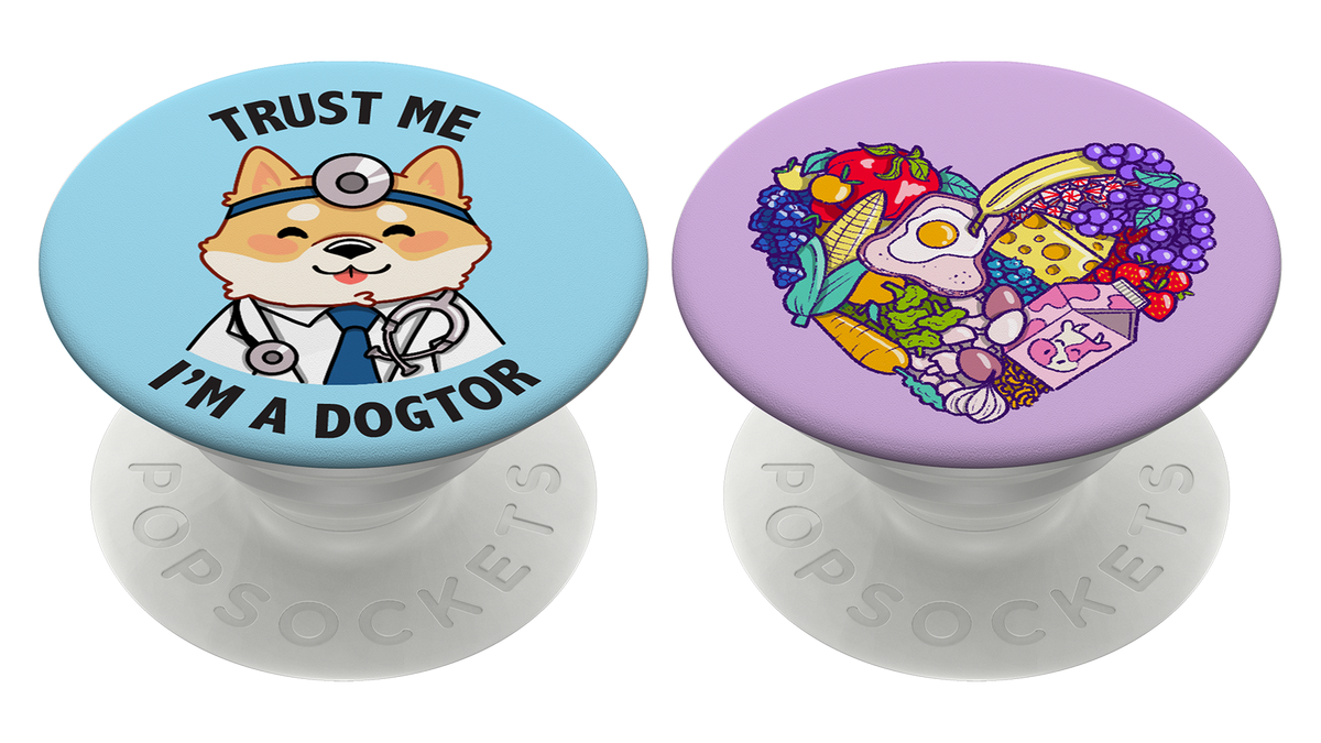 The exclusive Doctors Without Boarders and Feeding America PopSockets