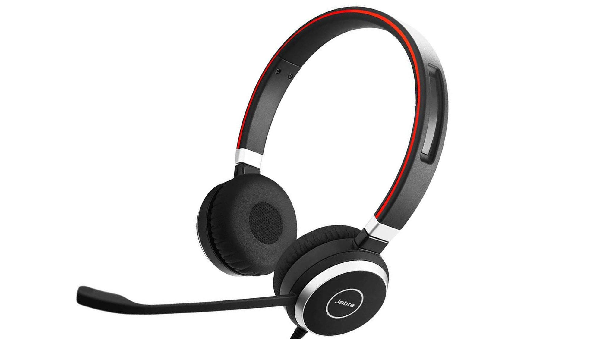Jabra Evolve 40 headset.