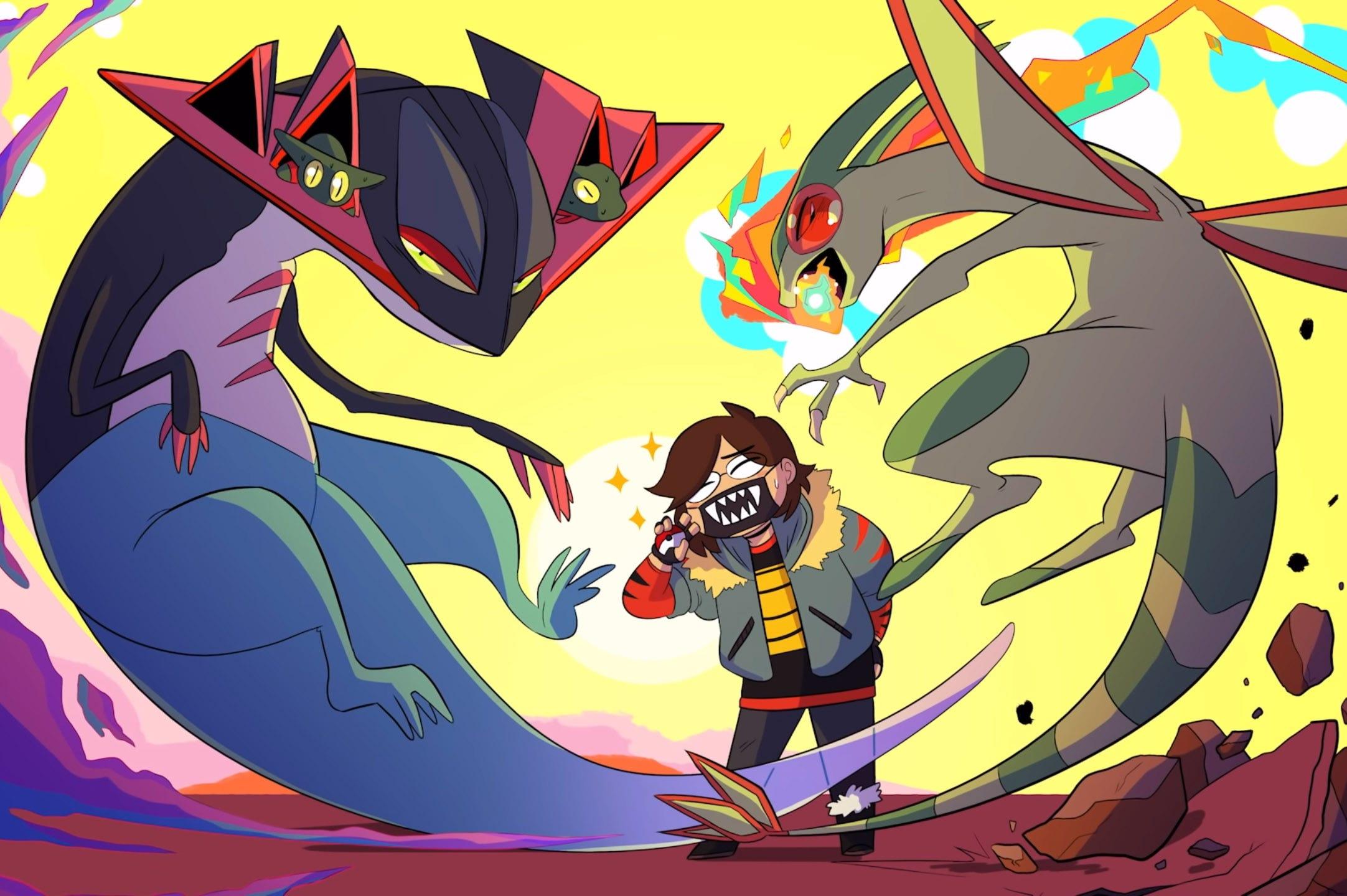 a Drawfee Pokemon illustration.