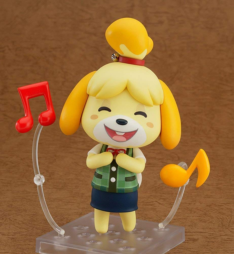 Good Smile's customizable Nenadroid Isabelle figurine.