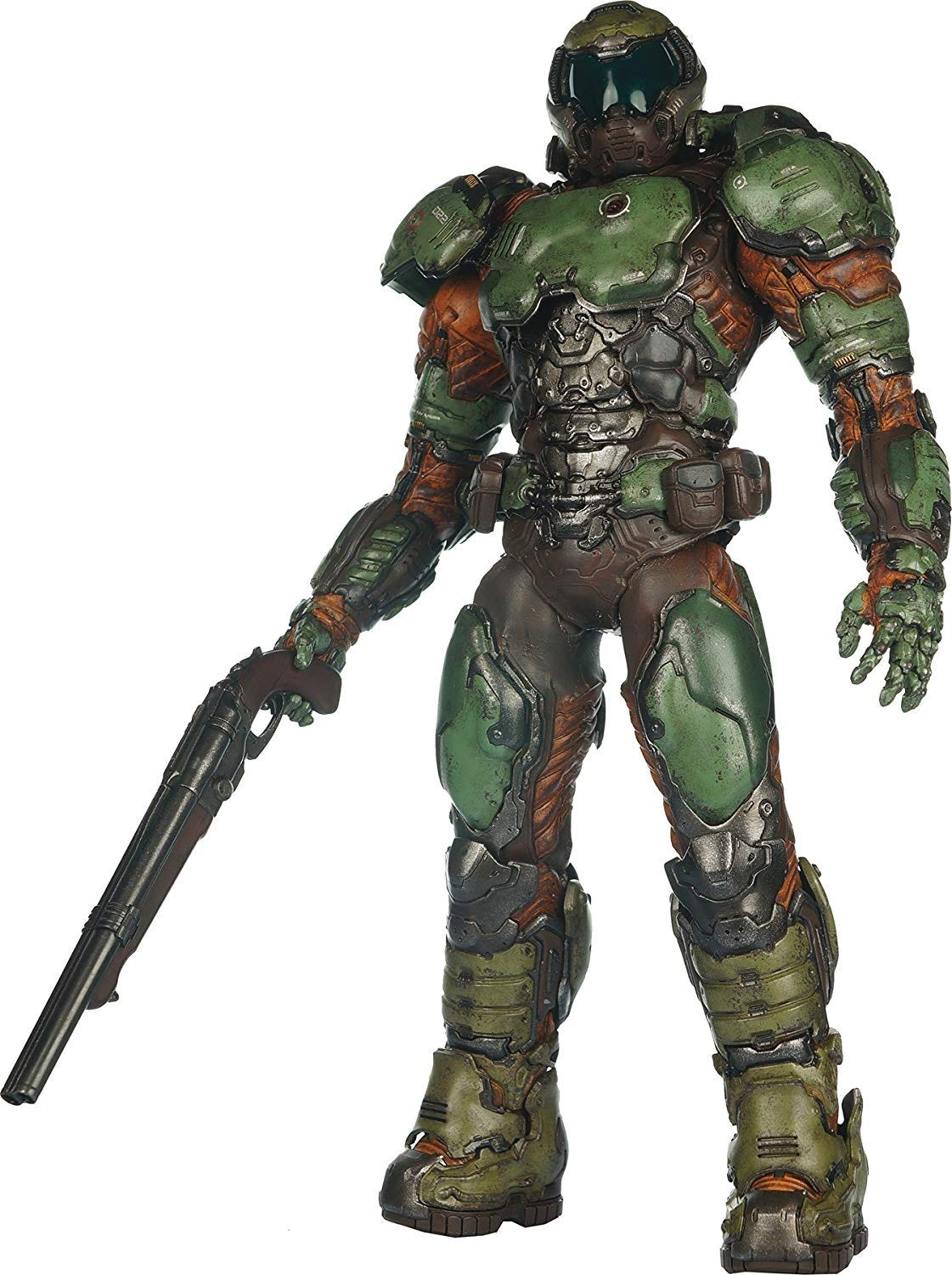 DoomGuy ThreeZero figure.