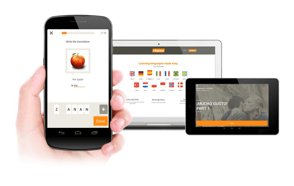 Babbel Mobile Apps