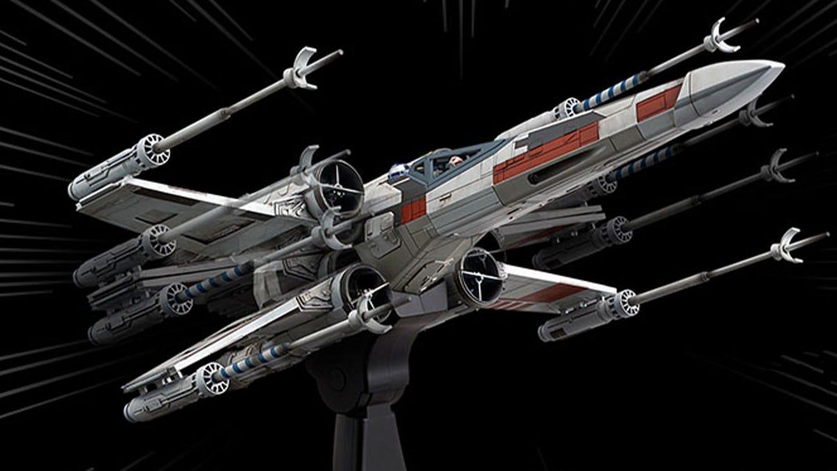 Bandai Hobby Moving X-Wing Model