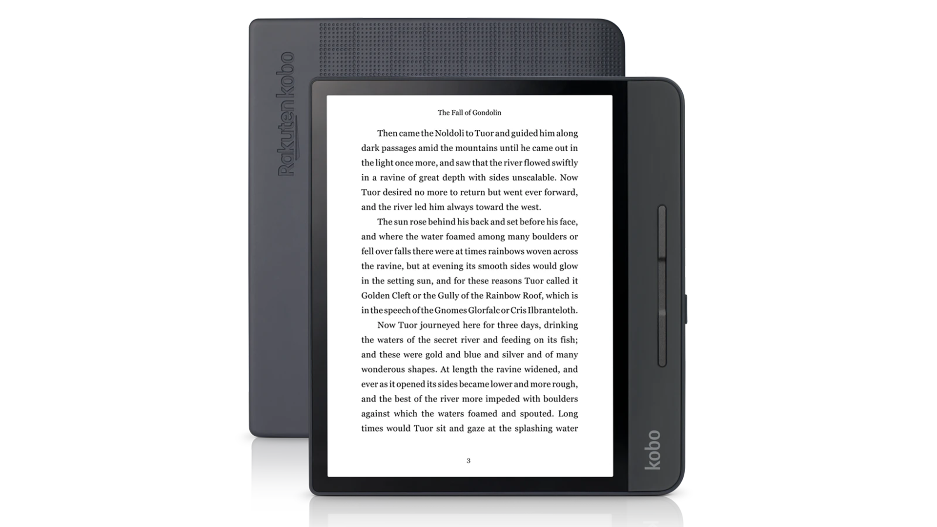A photo of the Kobo Forma