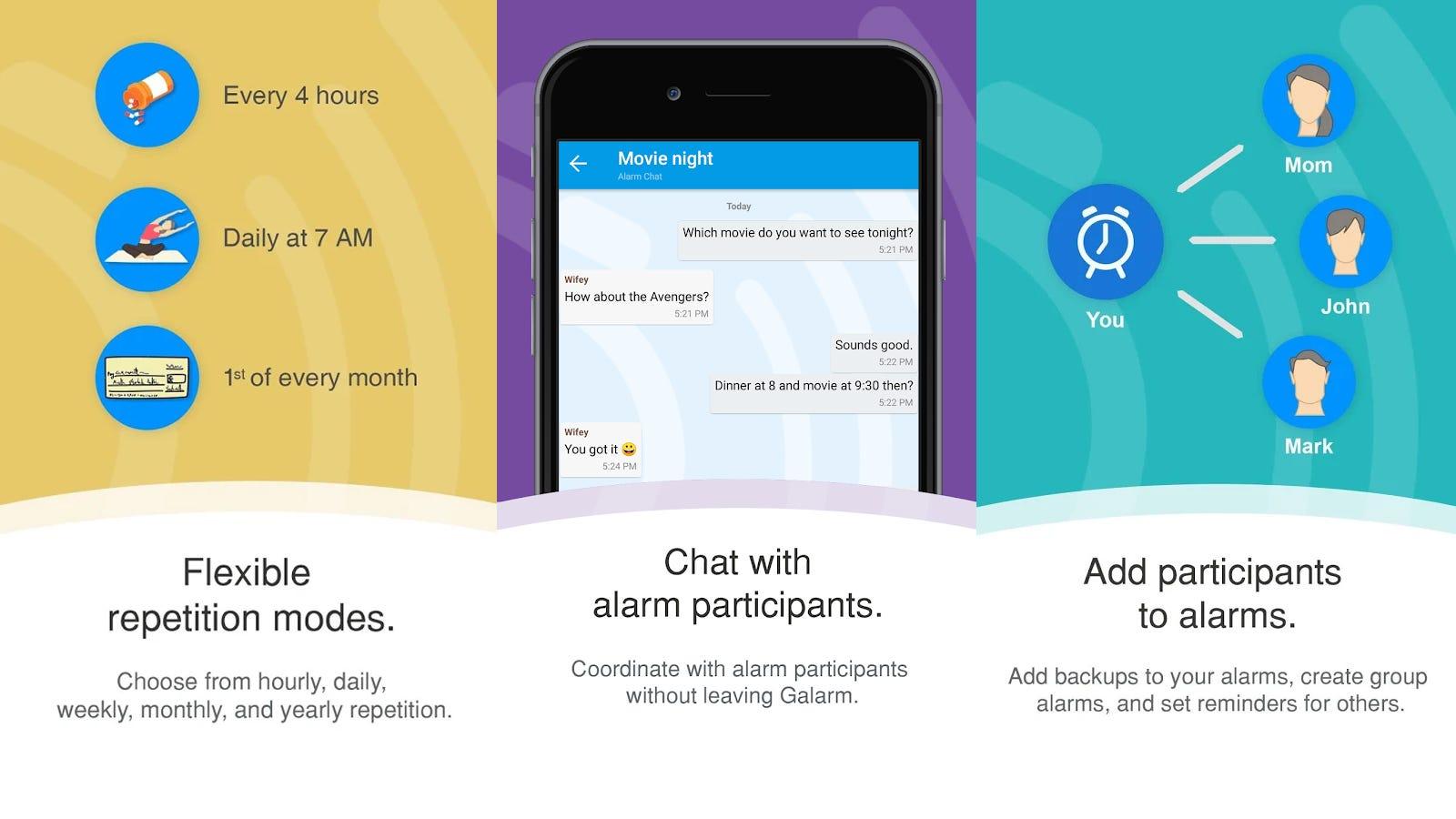 Galarm App