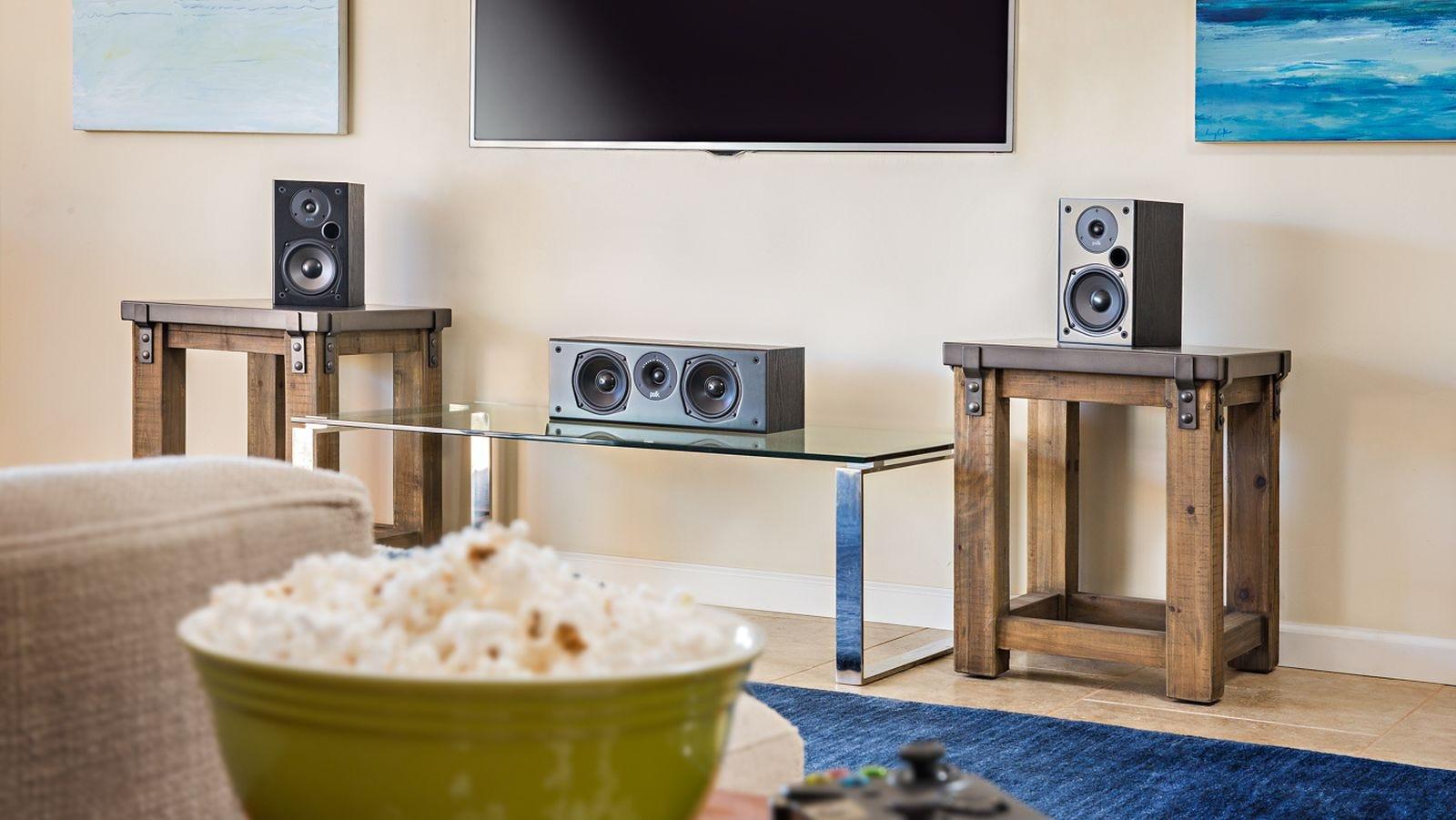 Polk t30 centre speaker in setup