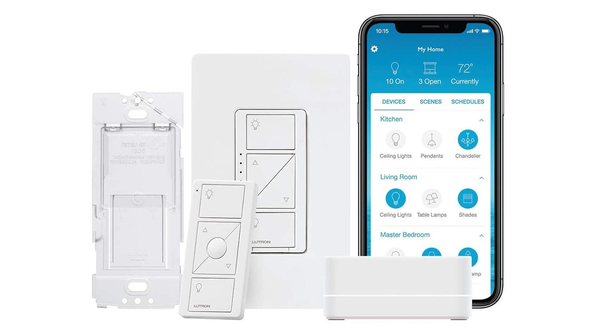 The Luton Caseta smart switch Kit