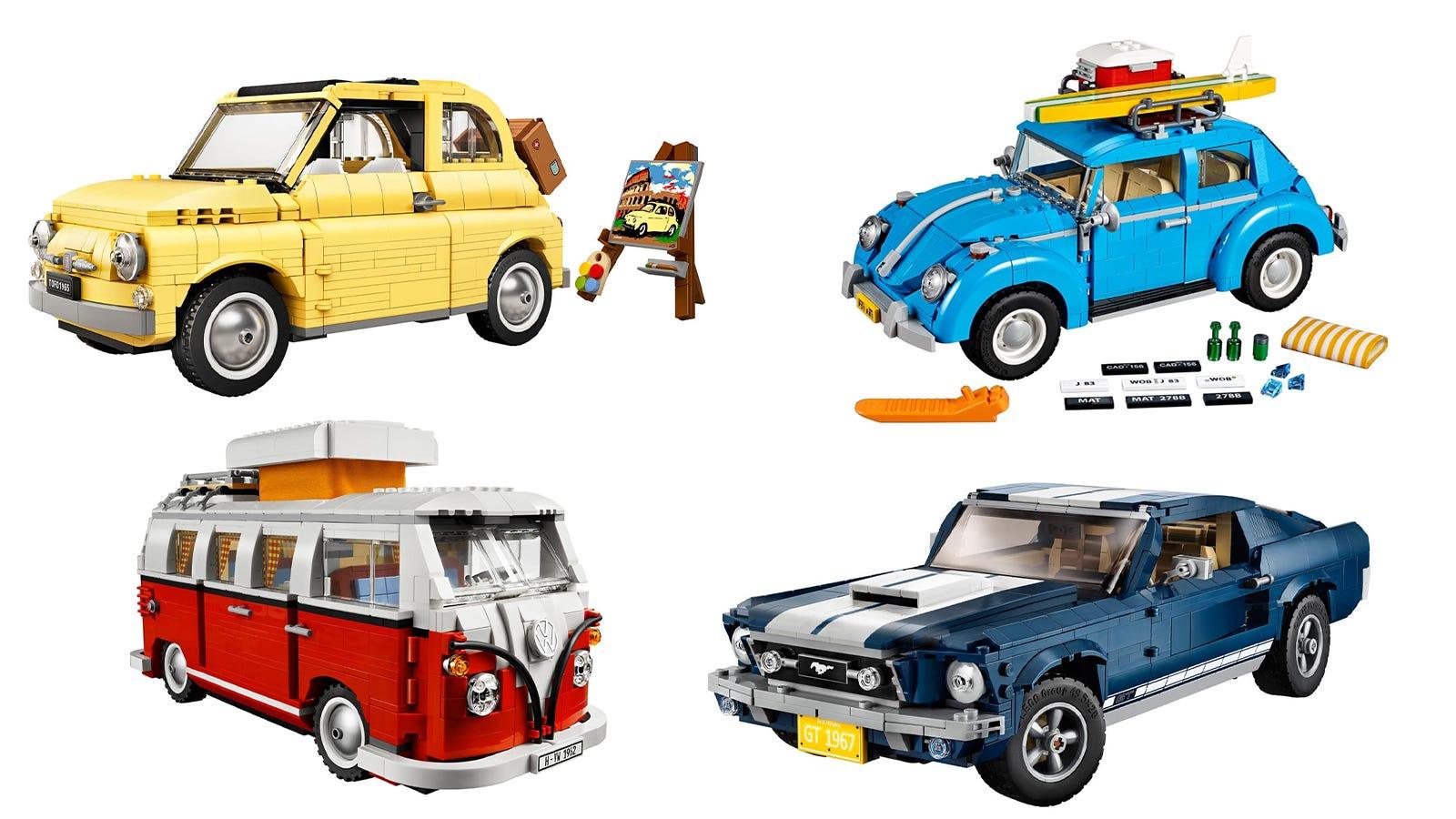 "LEGO Creator Expert ""Big Cars"" Line"