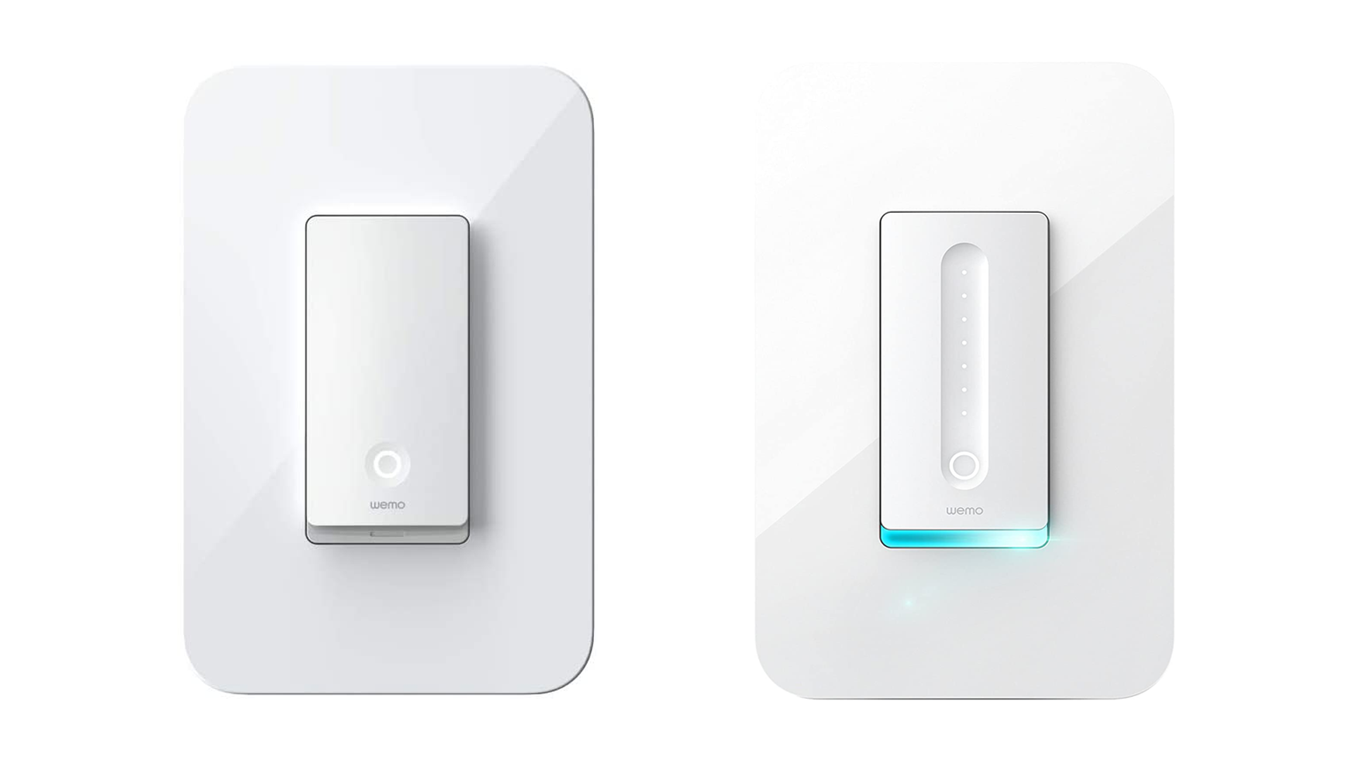 The WeMo Smart Switch or Dimmer