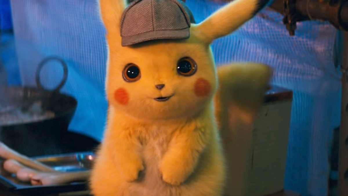 A photo of Detective Pikachu