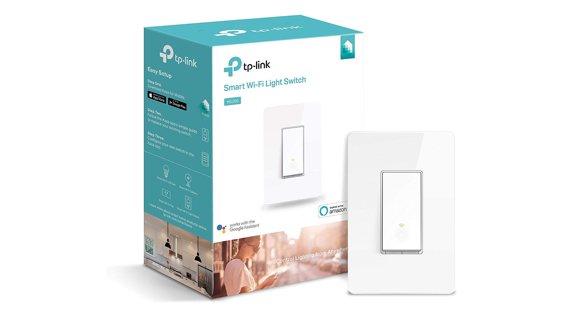 The TP Link Kasa smart switch