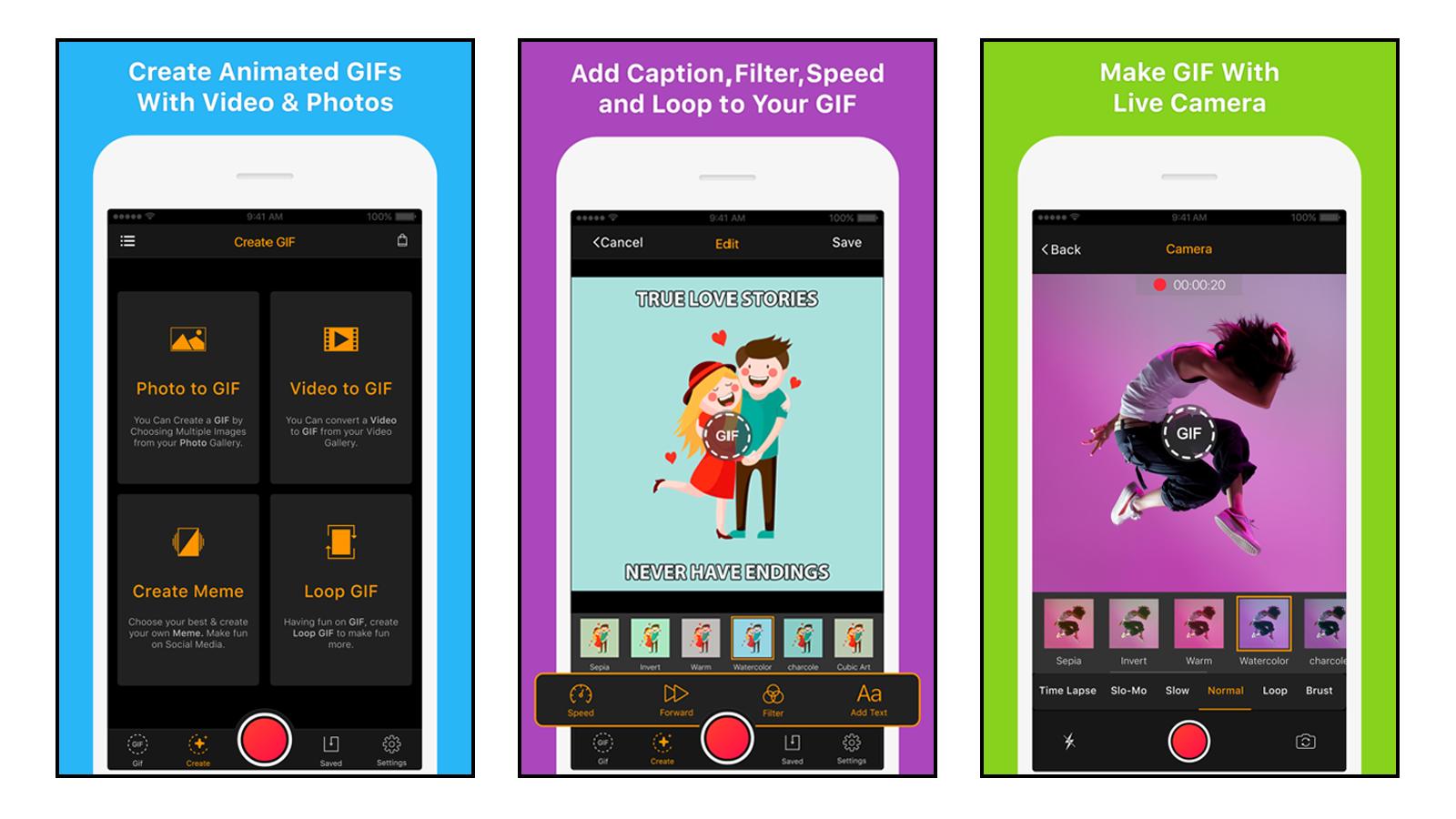 GIF Maker GIF making app