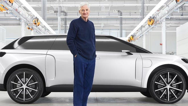 Dyson's Cancelled Electric Car Could Go 600 Miles on a Solid-State Battery