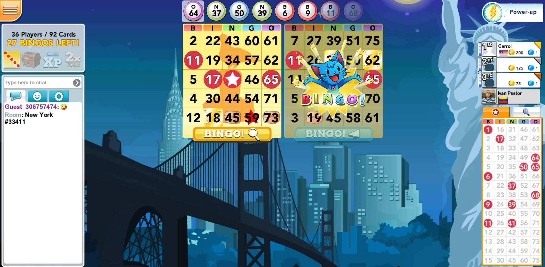 Bingo Blitz fun online bingo games