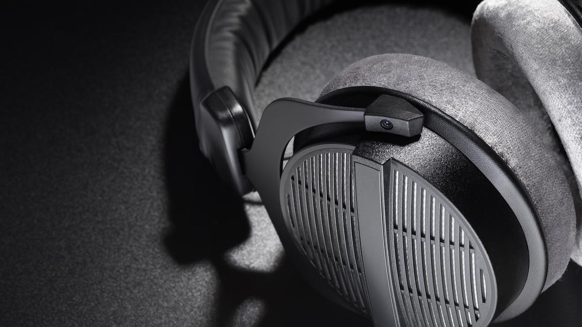 The Beyerdynamic DT 990 PRO headphones