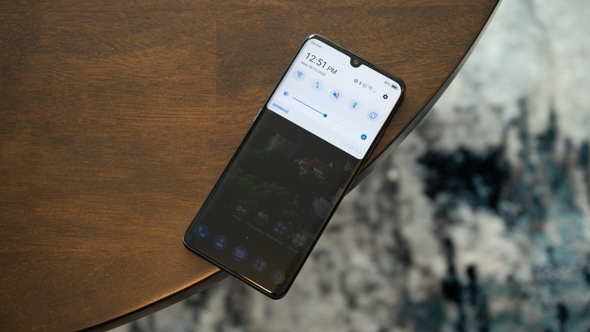 TCL 10 Pro user interface