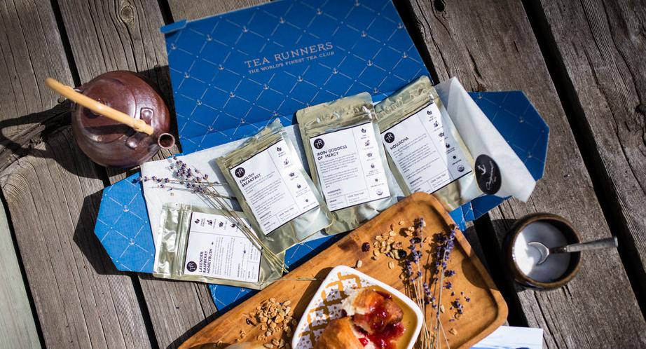 Tea Runners subscription box premium teas variety tea