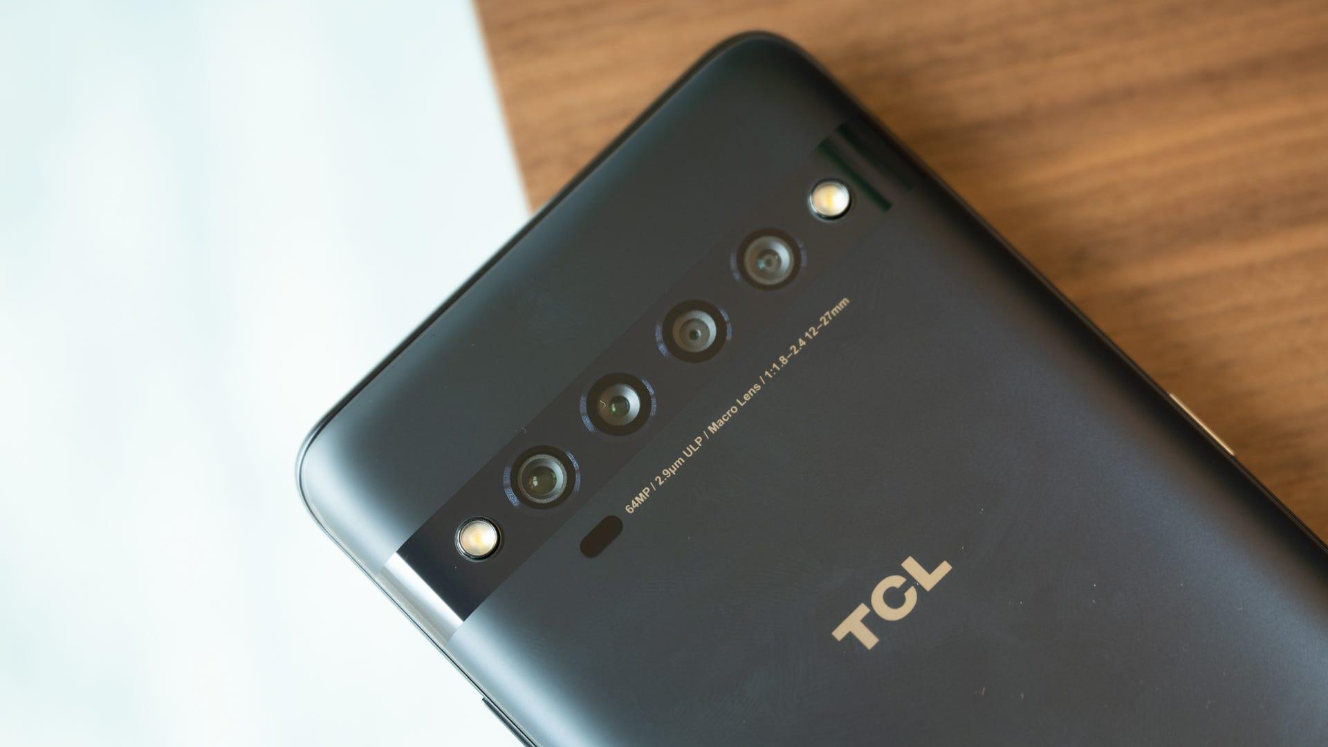 TCL 10 Pro Quad Camera Sensors