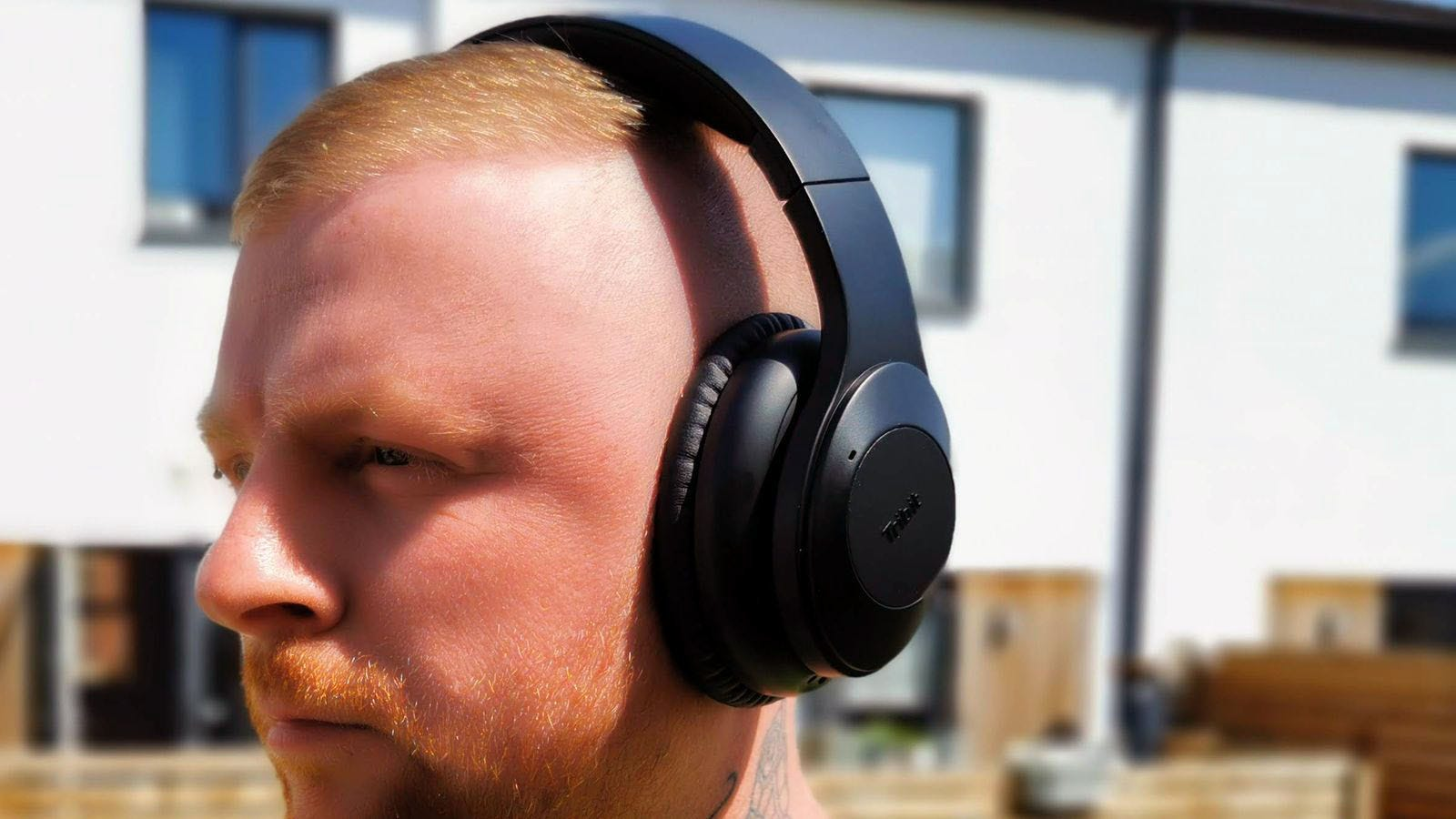 tribit quietplus in use over ears