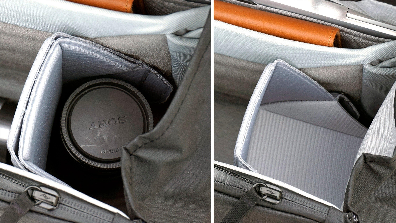 Oragami interior dividers.