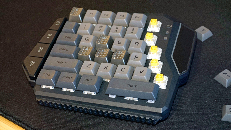 Modified GameSir keypad.