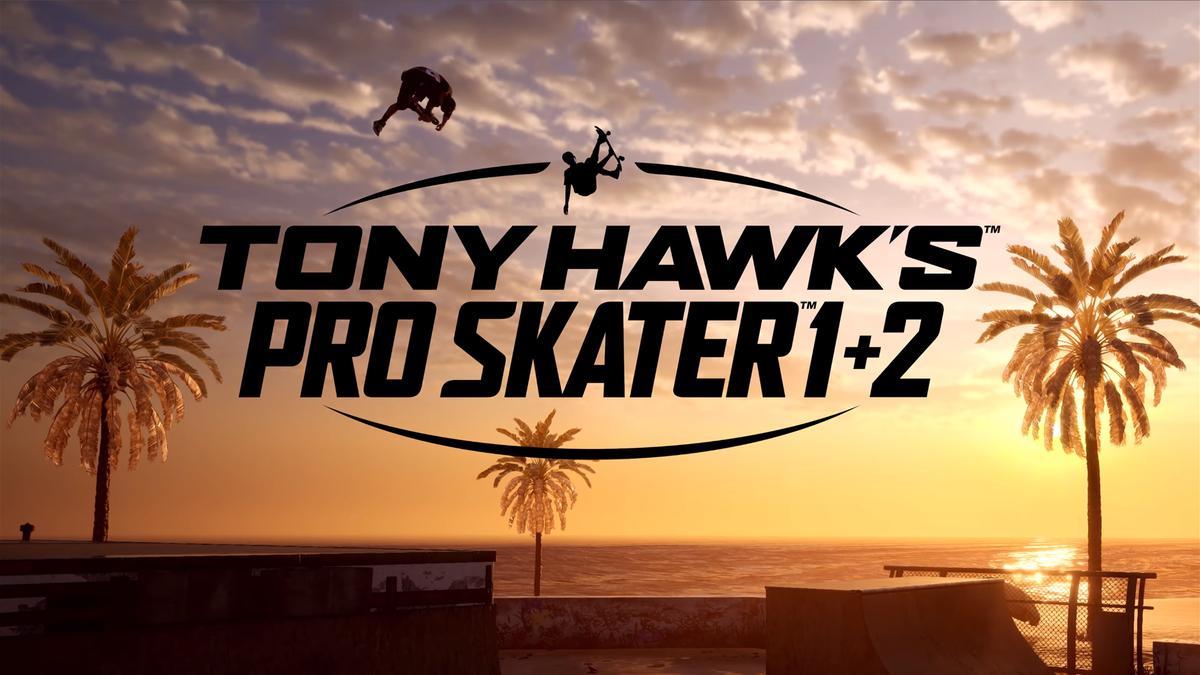 Tony Hawk's Pro Skater 1 + 2 logo