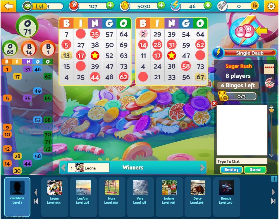 GSN Bingo Bash online bingo