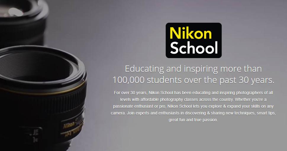 Nikon School website